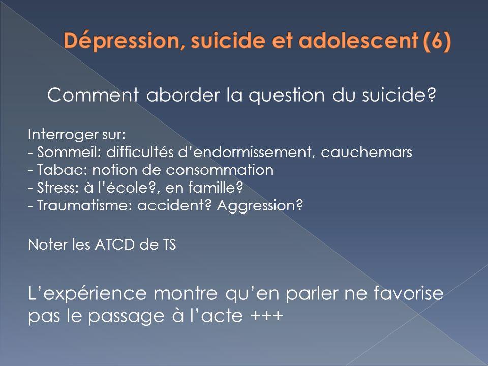 Dépression, suicide et adolescent (6)