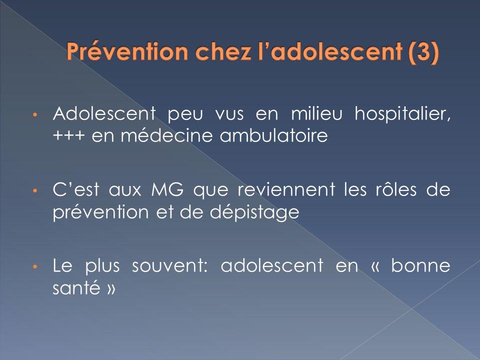 Prévention chez l'adolescent (3)