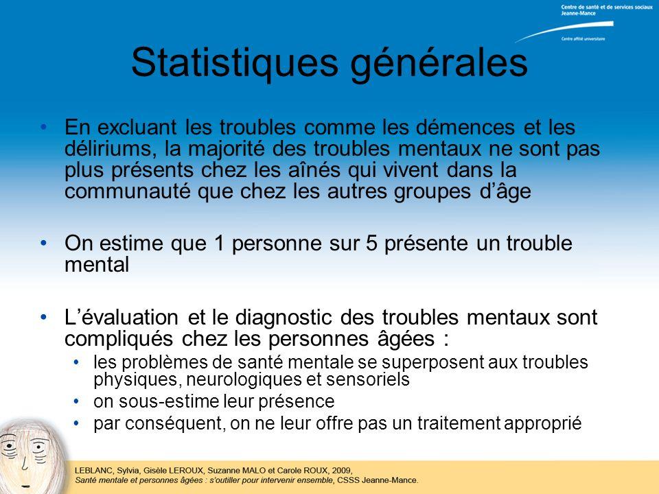 Statistiques générales