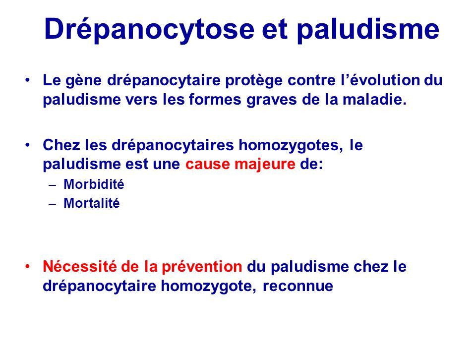 Drépanocytose et paludisme