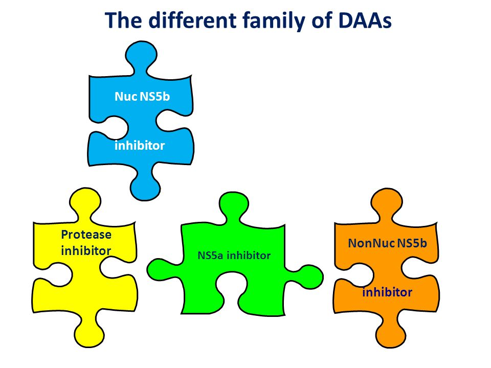 The different family of DAAs