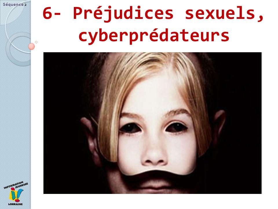 6- Préjudices sexuels, cyberprédateurs