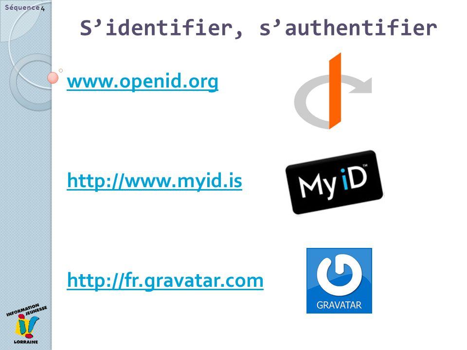 S'identifier, s'authentifier