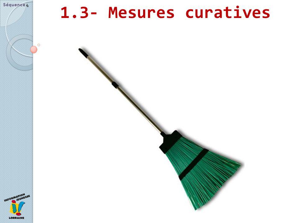 1.3- Mesures curatives Séquence 4