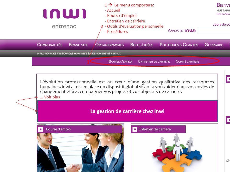 La gestion de carrière chez inwi Ecrivez nous sur carriere.rh@inwi.ma