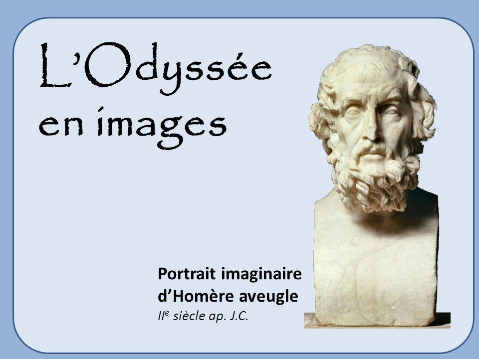 L'Odyssée en images Portrait imaginaire d'Homère aveugle