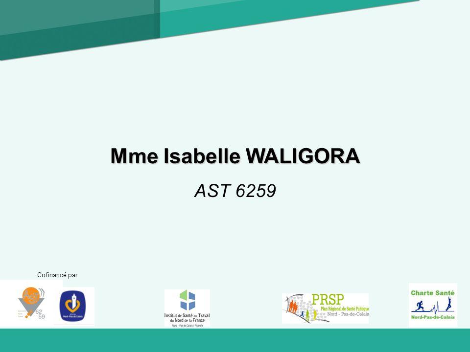 Mme Isabelle WALIGORA AST 6259 Cofinancé par 1
