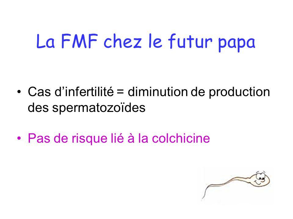 La FMF chez le futur papa