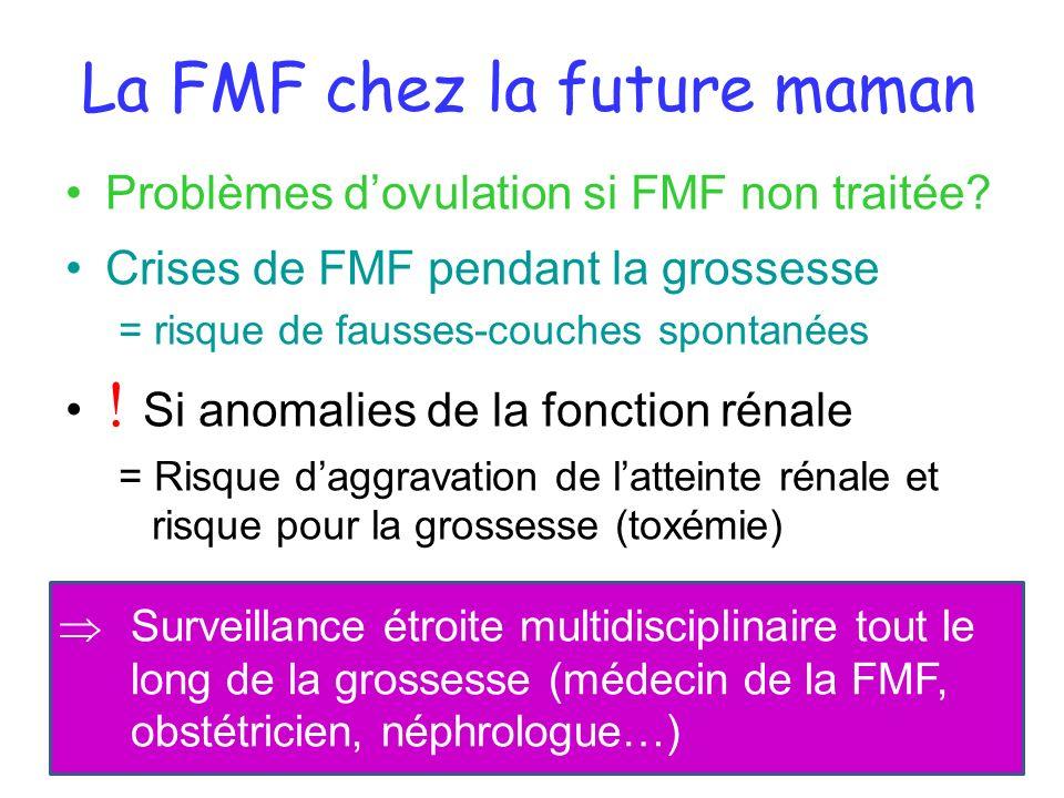 La FMF chez la future maman