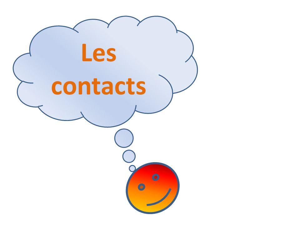 Les contacts