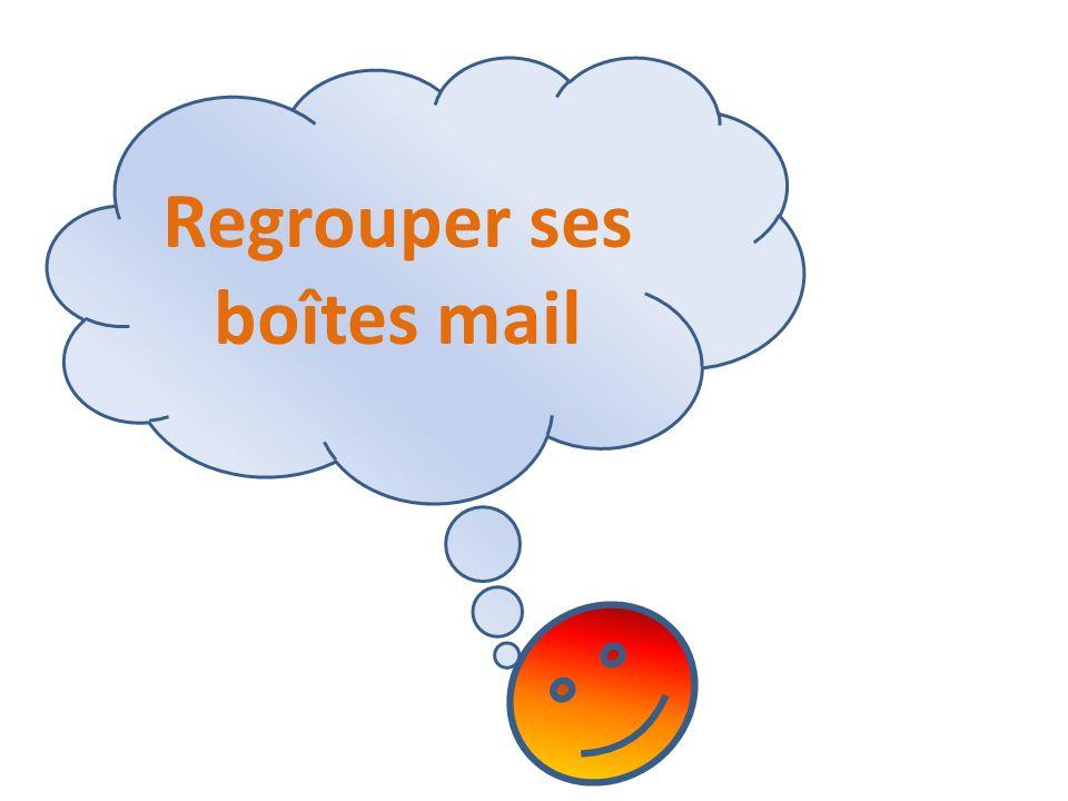Regrouper ses boîtes mail