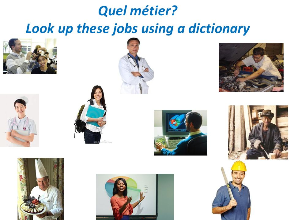 Look up these jobs using a dictionary