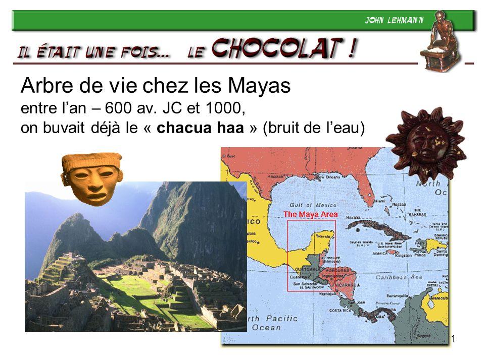 Arbre de vie chez les Mayas entre l'an – 600 av