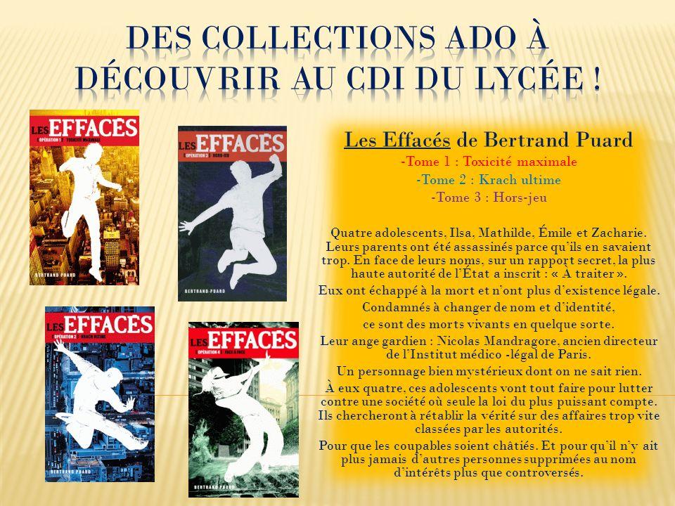 Des collections Ado à découvrir au CDI du lycée !