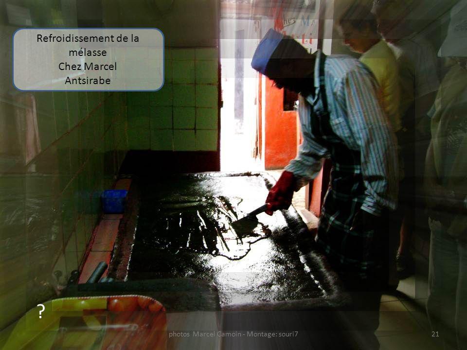 Refroidissement de la mélasse Chez Marcel Antsirabe
