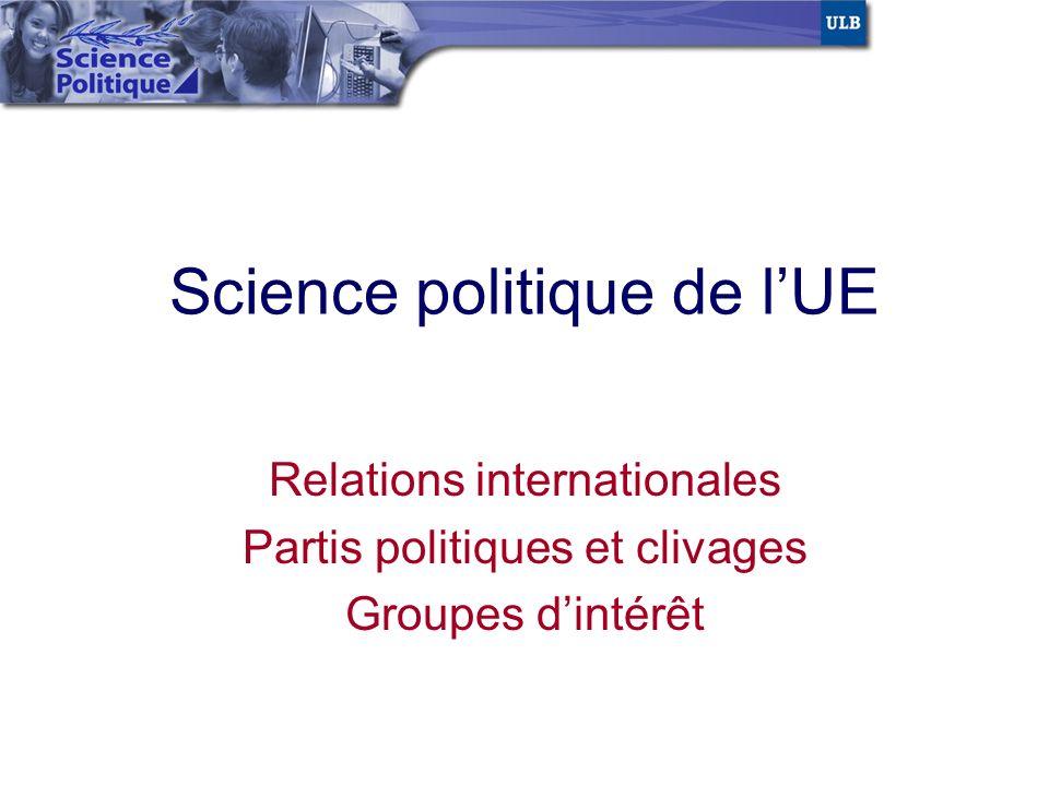 Science politique de l'UE