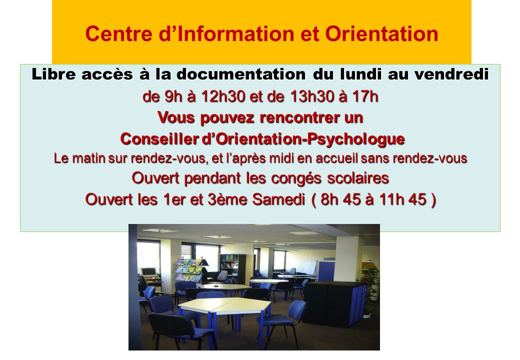 Centre d'Information et Orientation