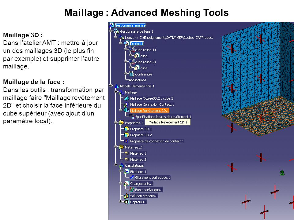 Maillage : Advanced Meshing Tools