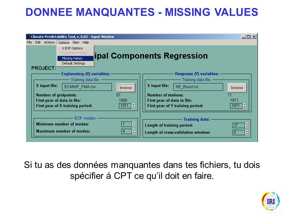 DONNEE MANQUANTES - MISSING VALUES