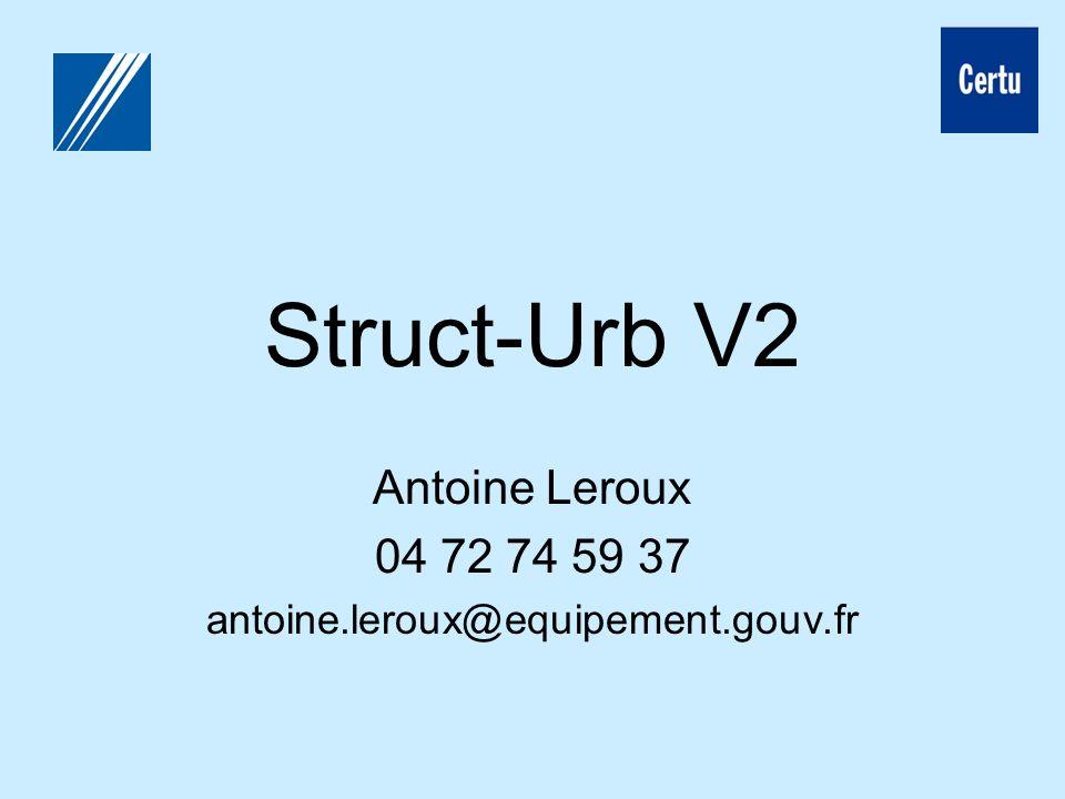 Antoine Leroux 04 72 74 59 37 antoine.leroux@equipement.gouv.fr