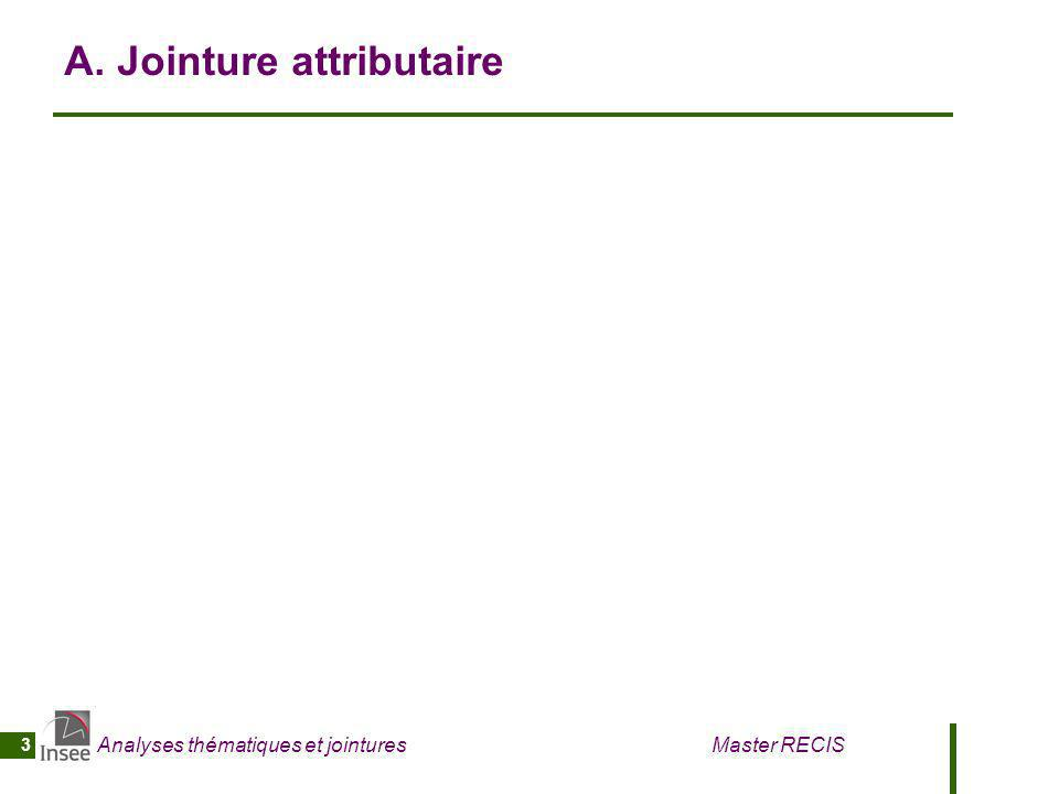 A. Jointure attributaire