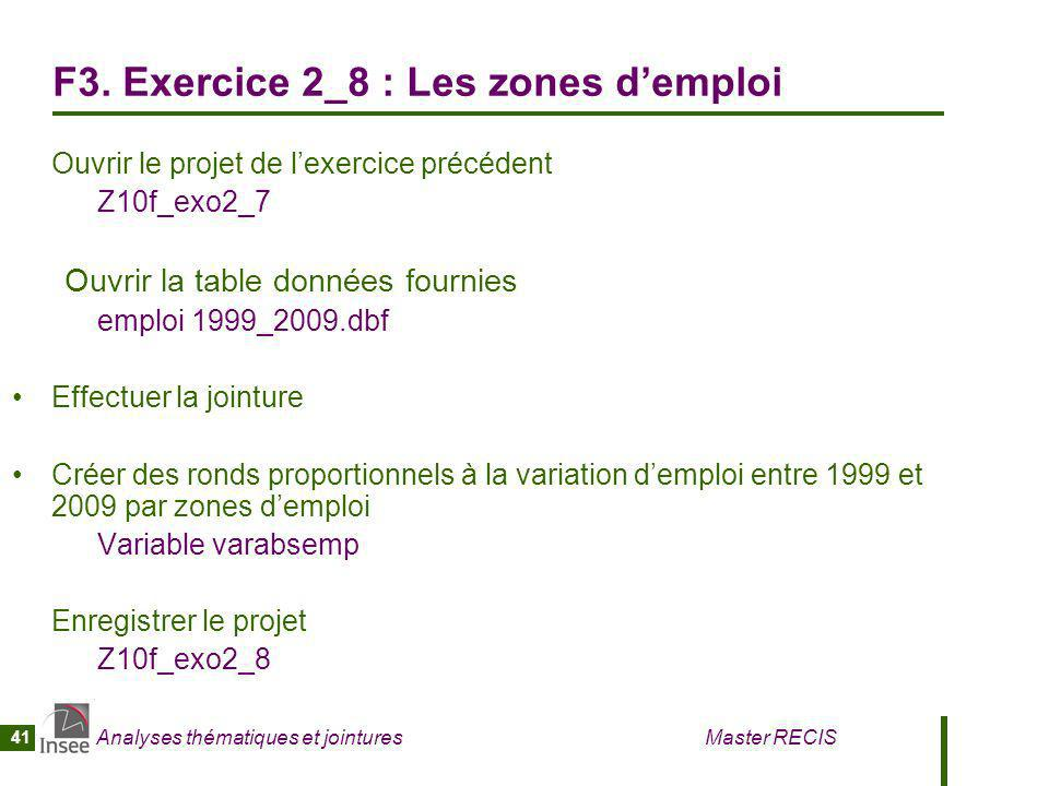 F3. Exercice 2_8 : Les zones d'emploi