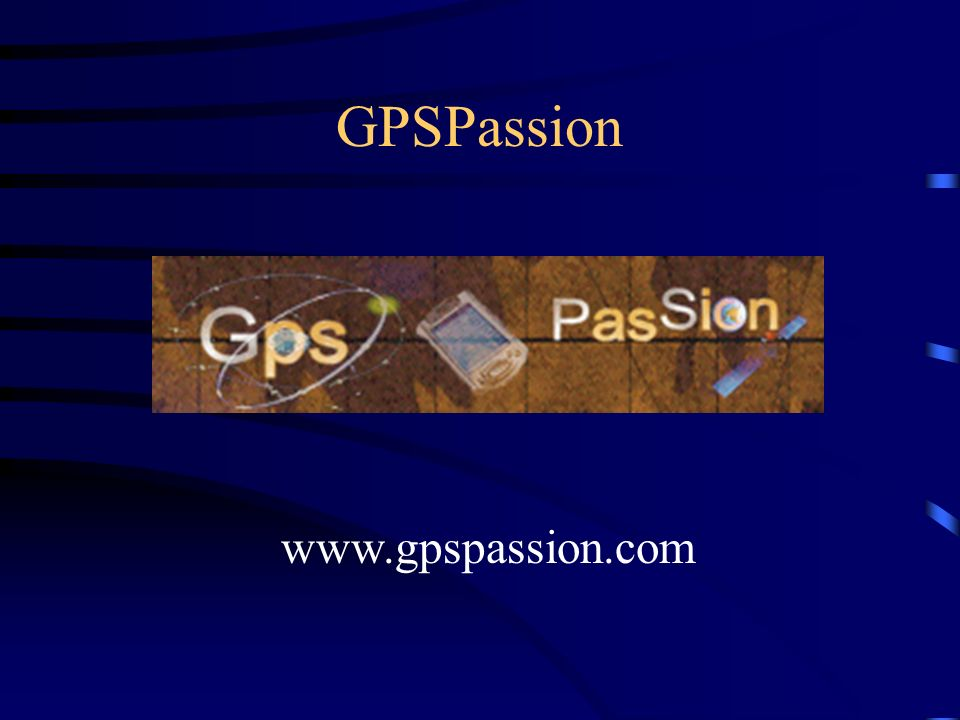 GPSPassion L'informaticien www.gpspassion.com