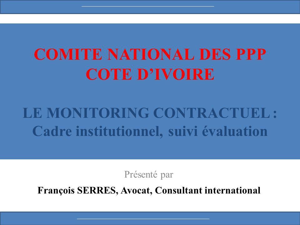 Présenté par François SERRES, Avocat, Consultant international