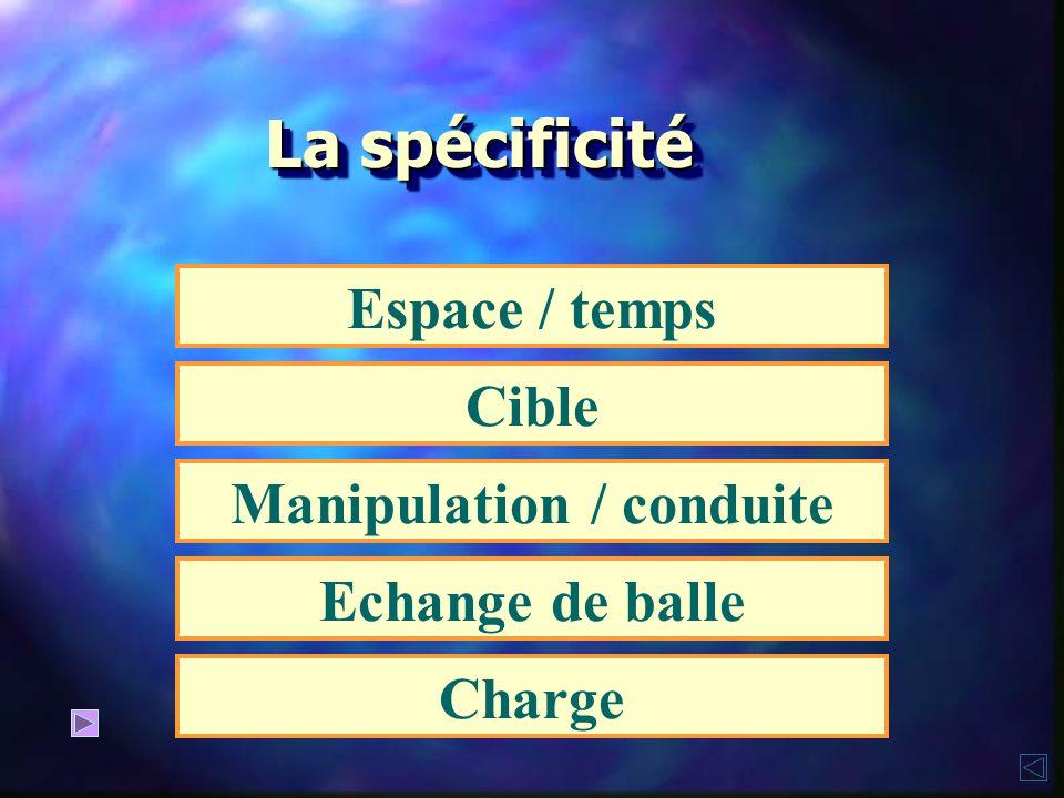 Manipulation / conduite