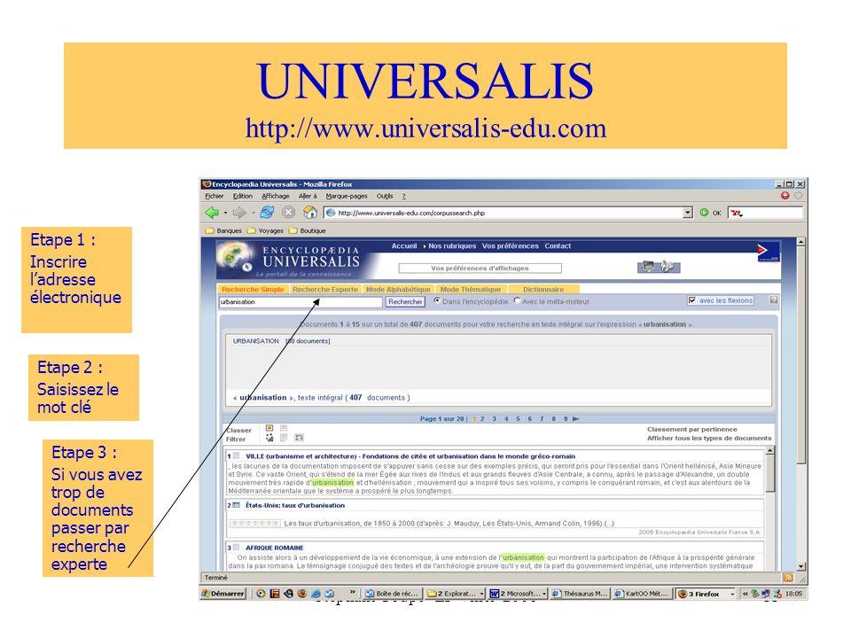 UNIVERSALIS http://www.universalis-edu.com