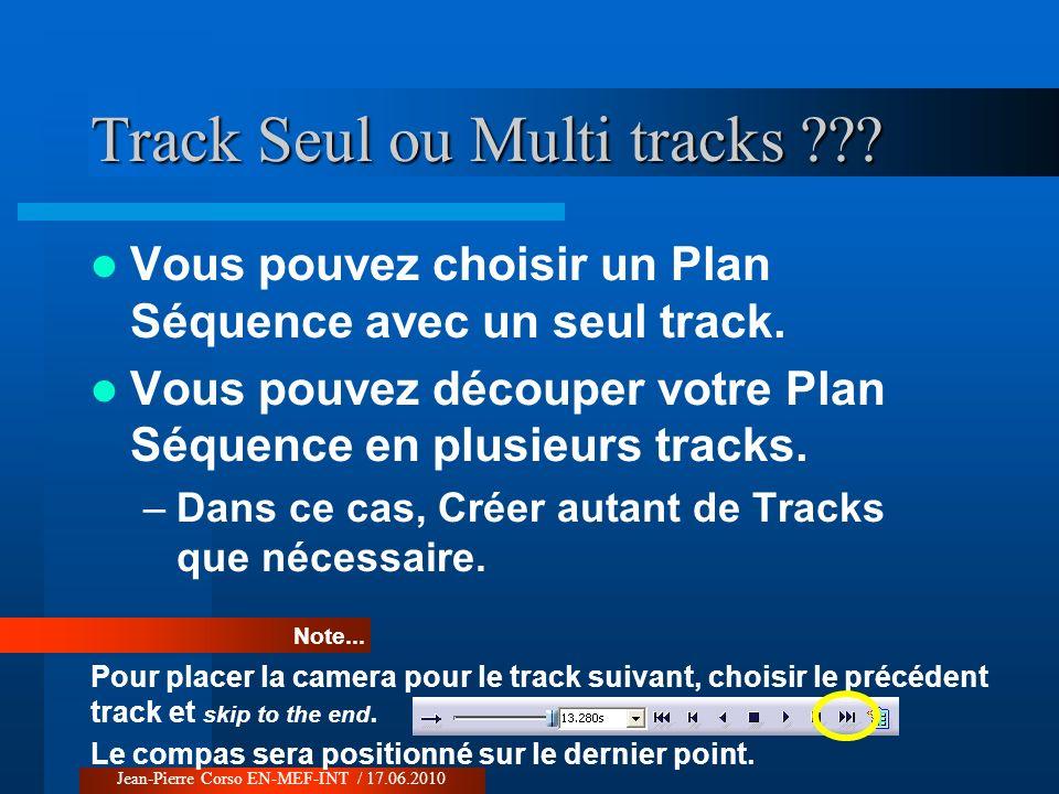 Track Seul ou Multi tracks