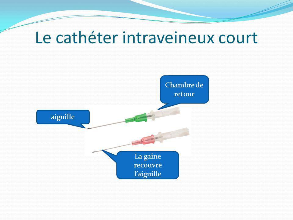 Le cathéter intraveineux court