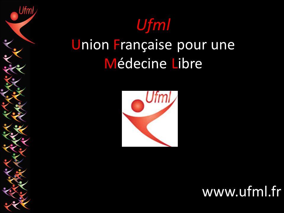 Ufml Union Française pour une Médecine Libre