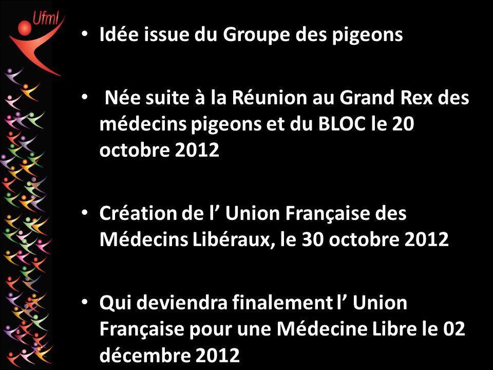 Idée issue du Groupe des pigeons