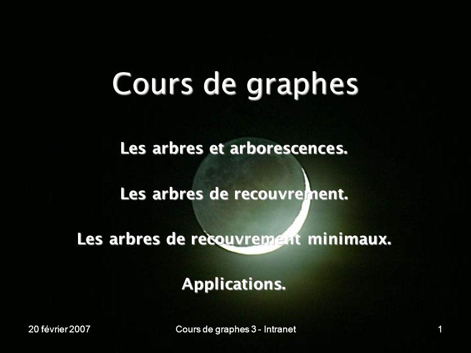Cours de graphes Les arbres et arborescences.