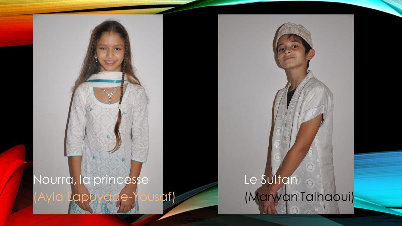 Nourra, la princesse Le Sultan