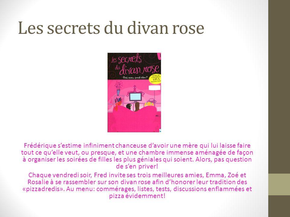 Les secrets du divan rose