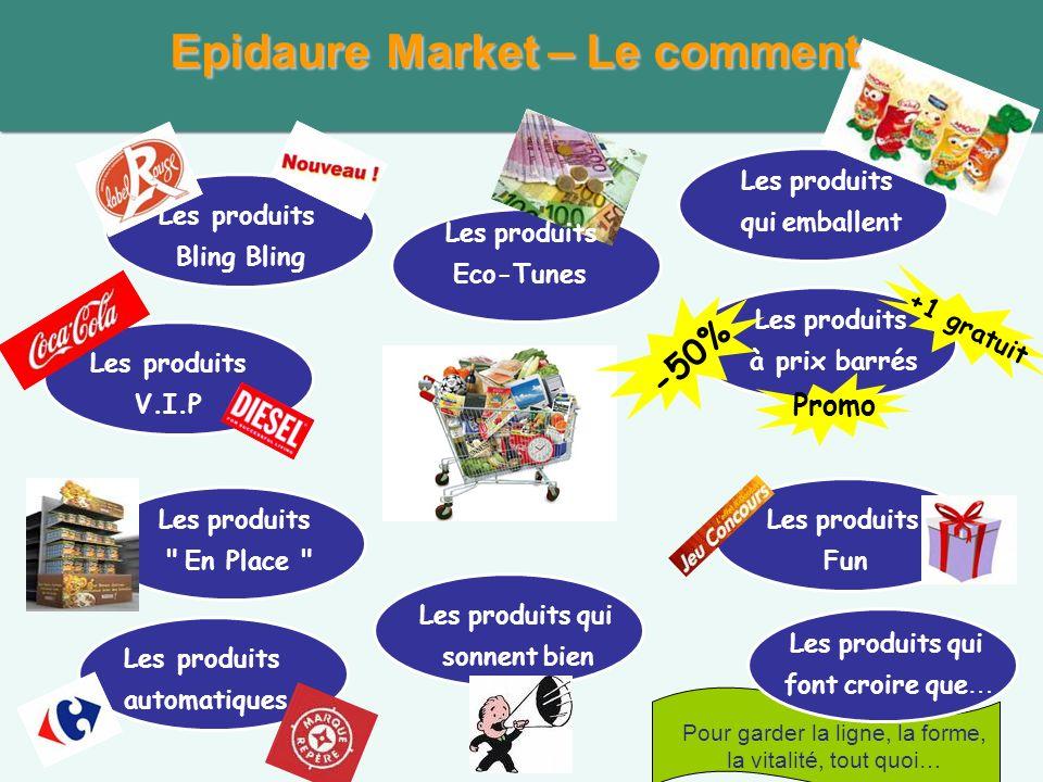 Epidaure Market – Le comment