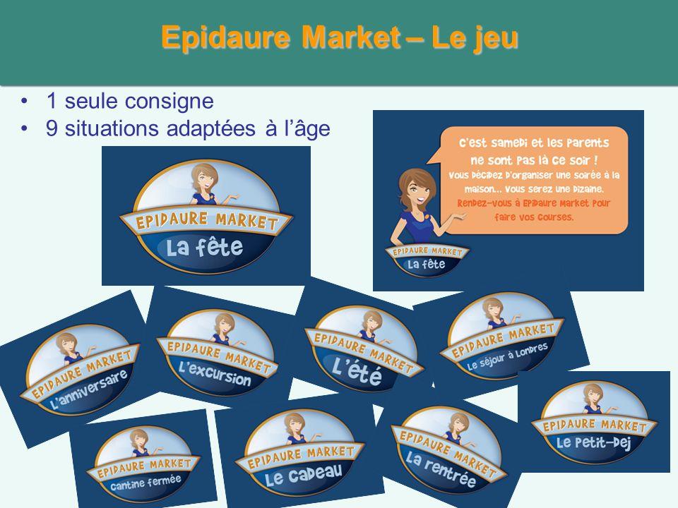 Epidaure Market – Le jeu