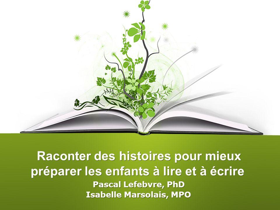 Pascal Lefebvre, PhD Isabelle Marsolais, MPO