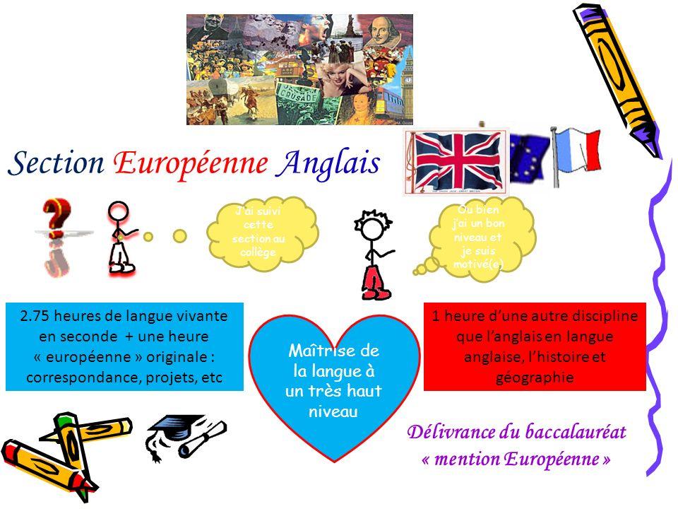 Délivrance du baccalauréat « mention Européenne »