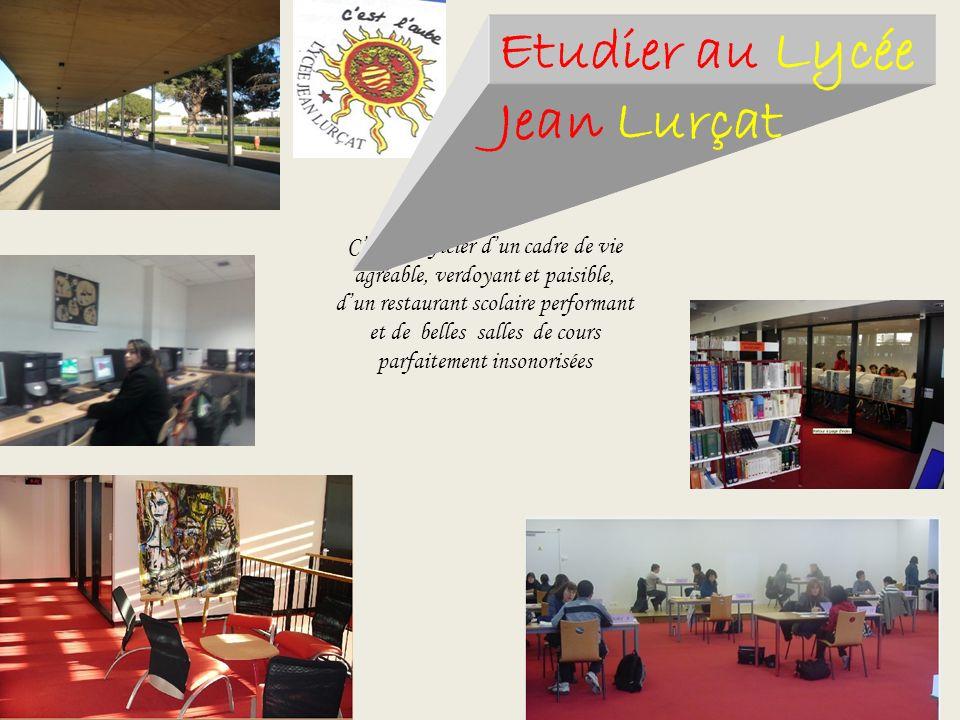 Etudier au Lycée Jean Lurçat