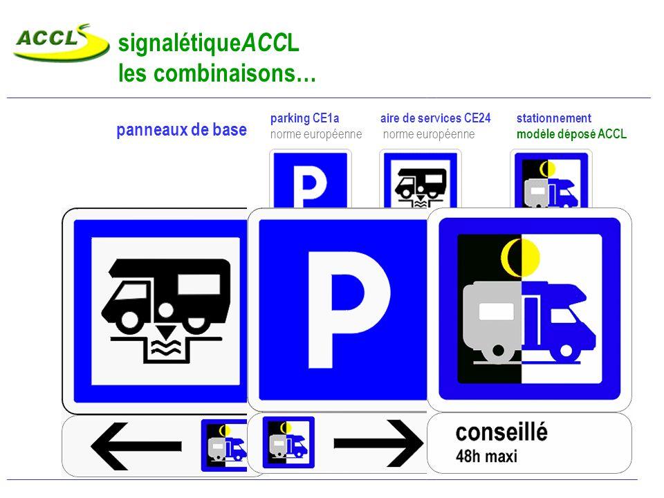signalétiqueACCL les combinaisons…