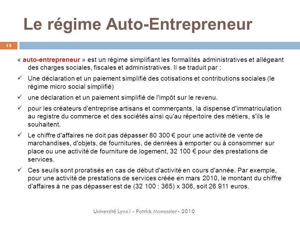 Cours environnement d entreprise avril ppt video online - Chambre de commerce auto entrepreneur ...