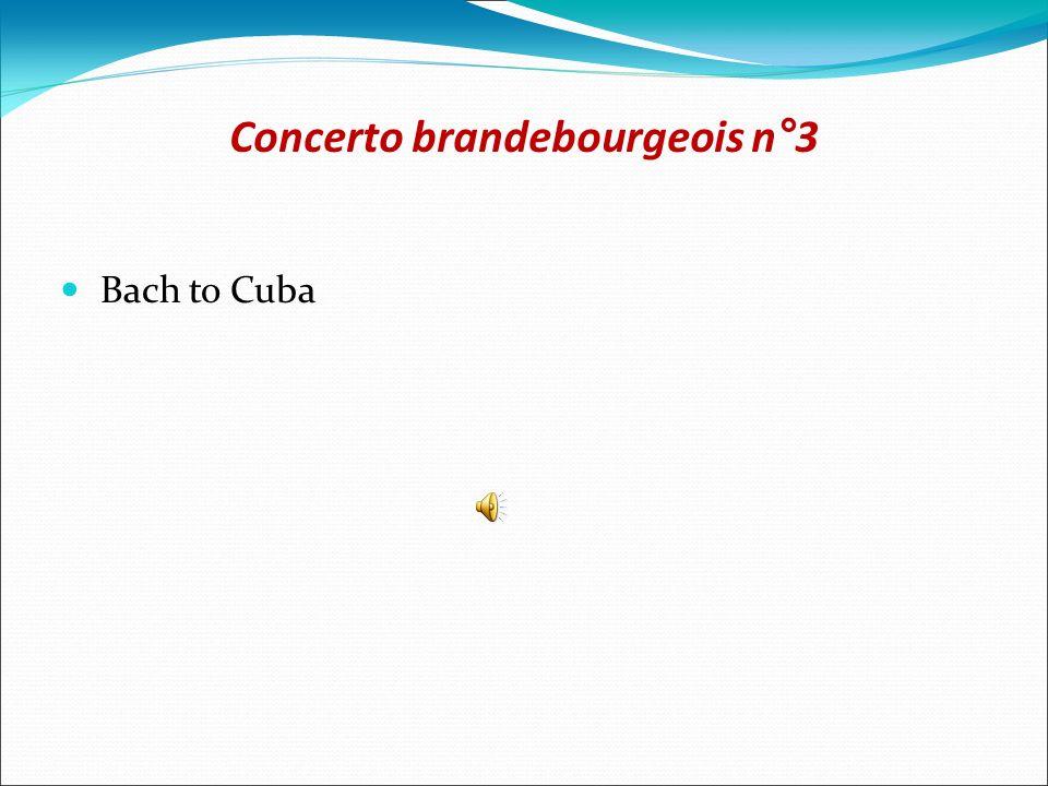 Concerto brandebourgeois n°3