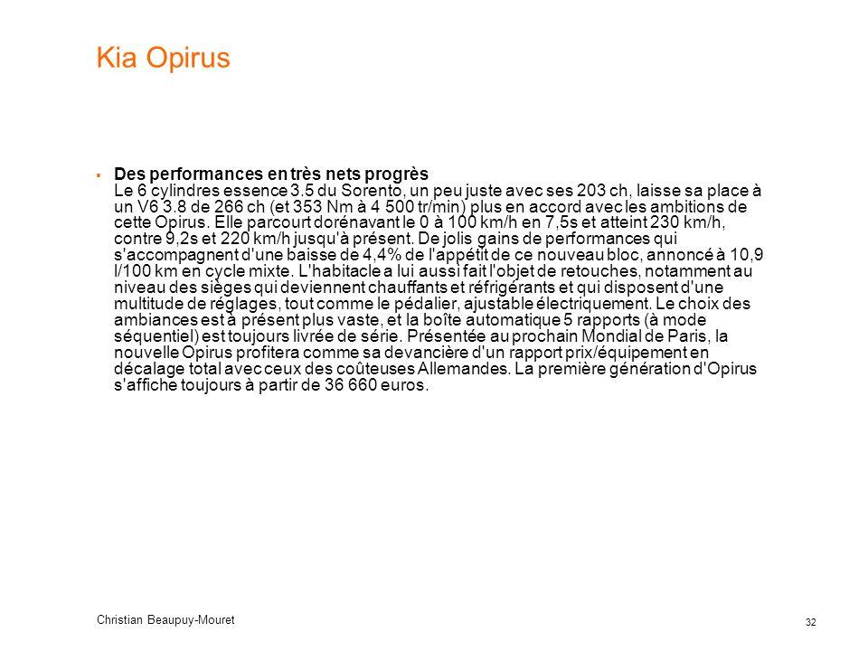 Kia Opirus