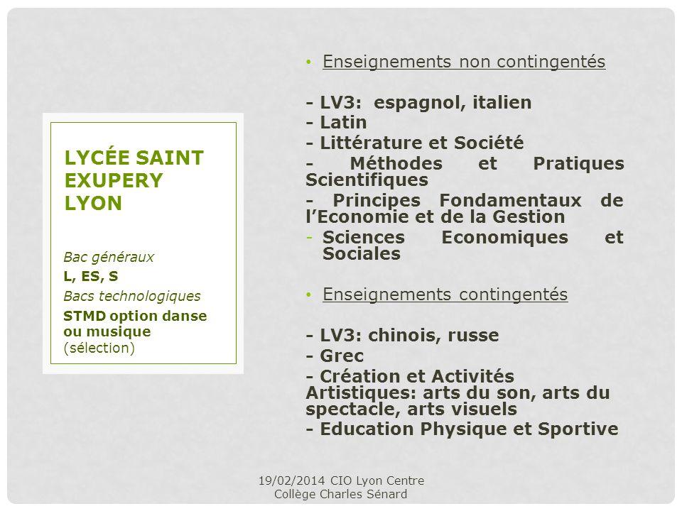 Lycée saint exupery lyon