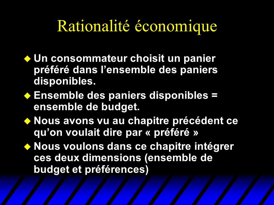Rationalité économique