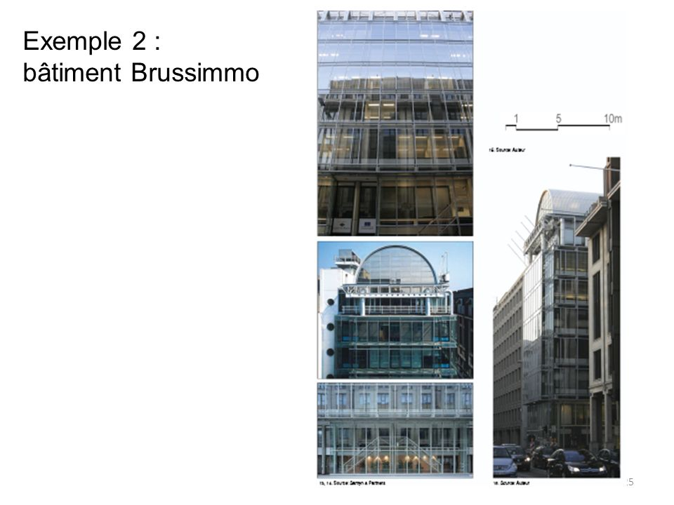 Exemple 2 : bâtiment Brussimmo