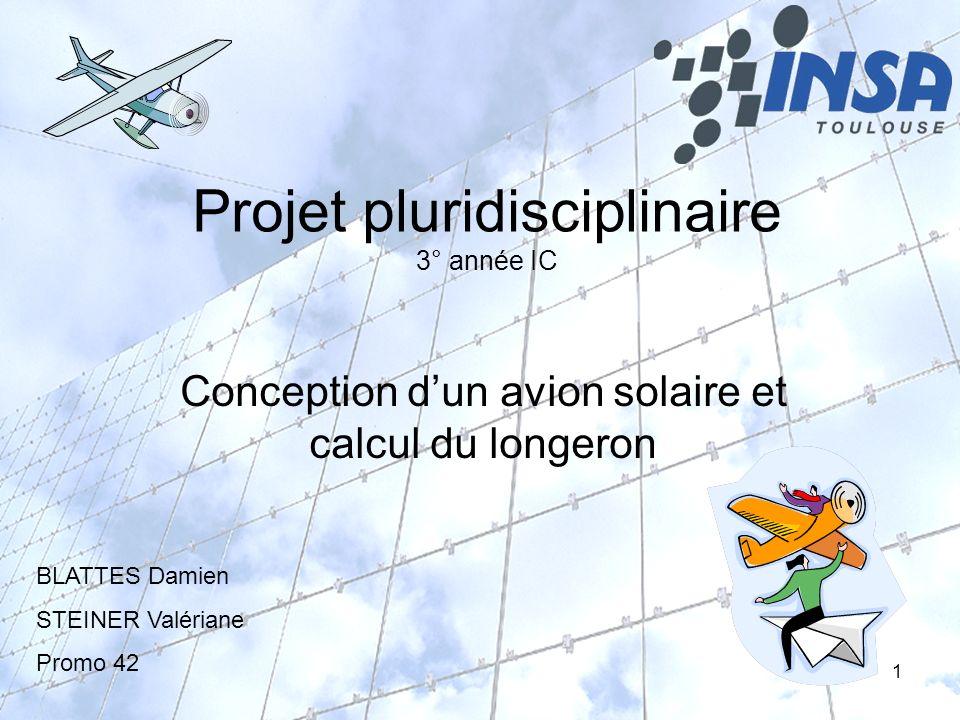 Projet pluridisciplinaire 3° année IC